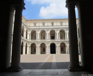 Modena, Palazzo Ducale, cortile interno