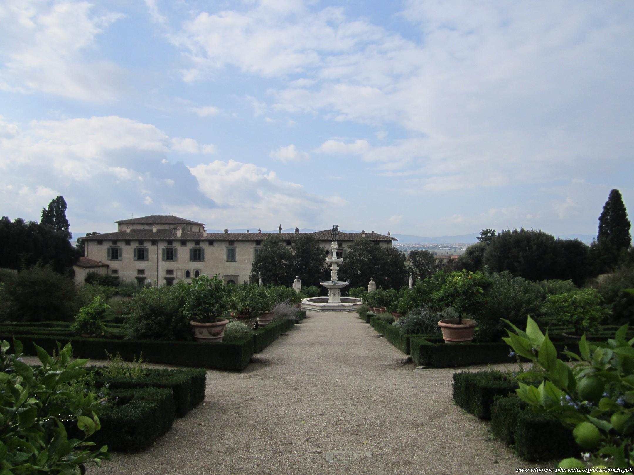 Parco E Giardino Della Villa Medicea Di Castello Firenze Fi