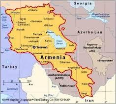 armenia mappa