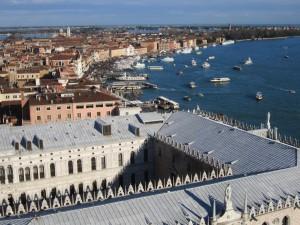 venezia veduta dal campanile san marco