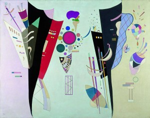 Vassily Kandinsky, Accordo reciproco, 1942