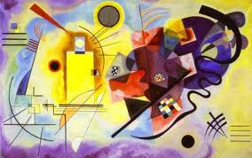 Vassily Kandinsky, Giallo-Rosso-Blu, 1925