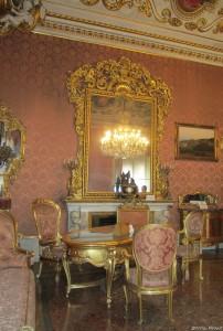 palazzo Malvezzi Bologna sala rosa