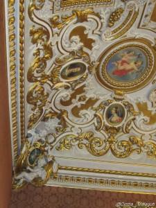palazzo malvezzi bologna sala rosa soffitto