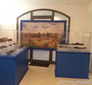 villa romana reperti mostra Sant'Agata Bolognese