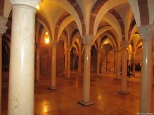 Abbazia di Nonantola, la cripta