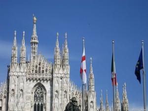 Milano, il Duomo e la Madonnina