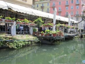 Milano, ristorante sul Naviglio Pavese