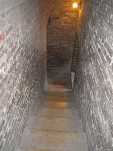Modena, Torre Ghirlandina, interno verso il Belvedere