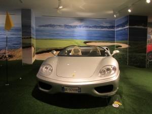 Museo Ferrari, autovettura Ferrari