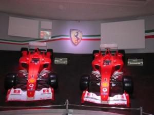 Museo Ferrari, Formula 1 premiate