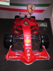 Museo Ferrari, Formula 1 campione del mondo 2008