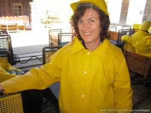 Miniera di Predoi, equipaggiamento visita