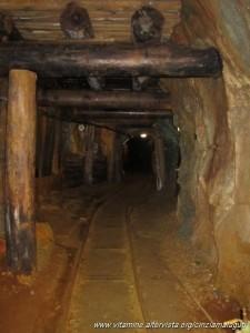 Miniera di Predoi, galleria
