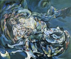 """La sposa del vento"" di Oskar Kokoschka"