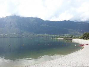 Lago d'Idro, spiaggia