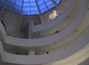New York, Mo.ma Museum of Modern Art, interno