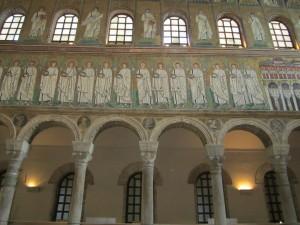 Ravenna, Basilica S. Apollinare Nuovo, interno