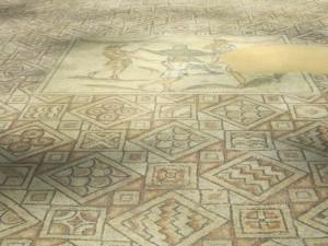 Ravenna, pavimentazione mosaicale, Domus dei Tappeti di Pietra