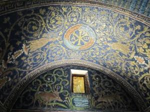 Ravenna, Mausoleo Galla Placidia, interno