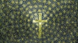 Ravenna, Mausoleo di Galla Placidia, mosaico cielo stellato