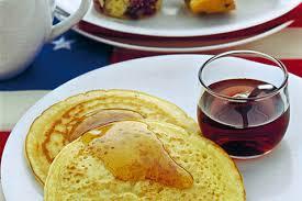 sciroppo d'acero pancakes