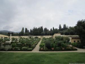 Villa medicea di Castello, panoramica sul parco