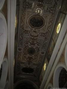 San Miniato, Cattedrale, il soffitto a cassettoni