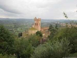 San Miniato, veduta dalla Rocca di Federico