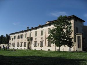 Villa medicea di Castello, facciata anteriore