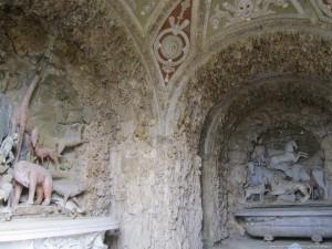 Villa medicea di Castello, la grotta artificiale