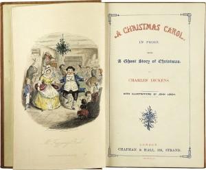 Canto di Natale, il frontespizio della prima edizione