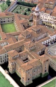 Mantova, centro storico veduta aerea (da Wikipedia)
